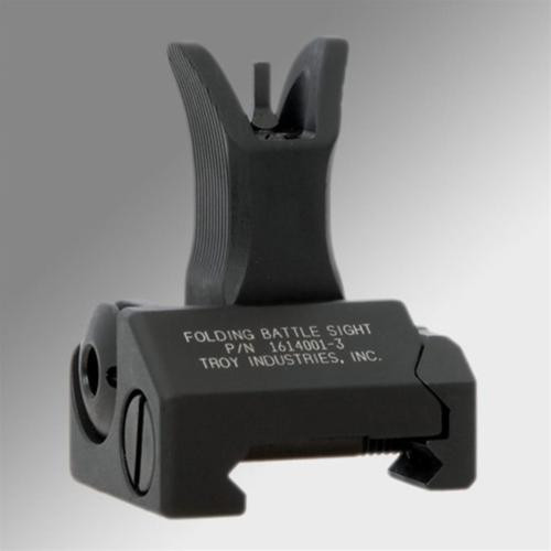 Troy FRONT FOLDING BATTLESIGHT - M4 STYLE, BLACK