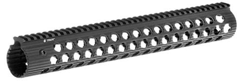 "Troy Alpha AR-15 Rail No Sight 15"" Aluminum Black"