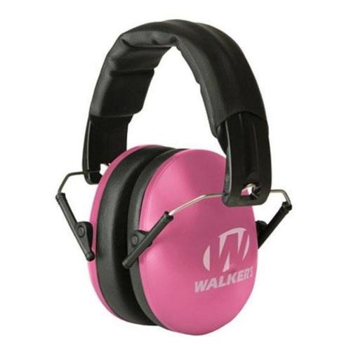 Walker's Game Ear Earmuffs, Pink, Women/Youth