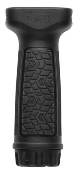 Daniel Defense Vertical Foregrip With Soft Touch Rubber Overmolding Black
