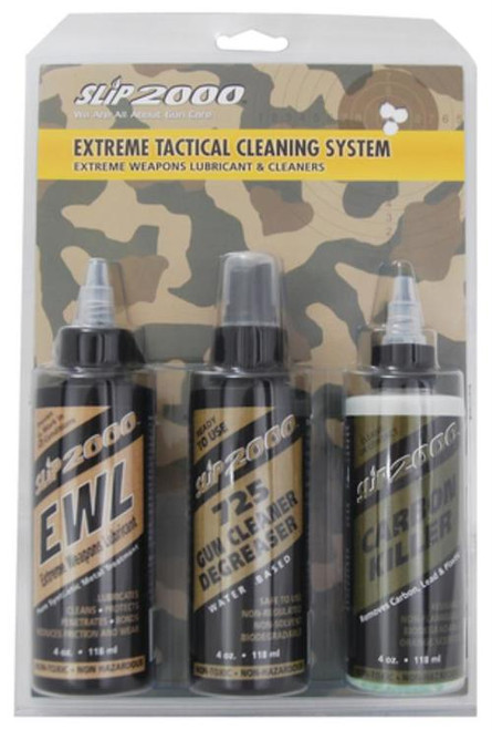 Slip 2000 Extreme Tactical Cleaning System Fouroz 3-Pack