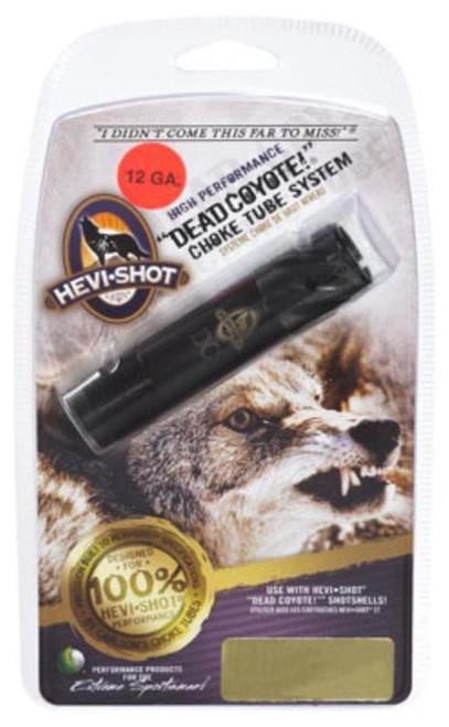 HEVI-Shot Choke Tube 12 Ga Dead Coyote Extreme Range Optima +, Black