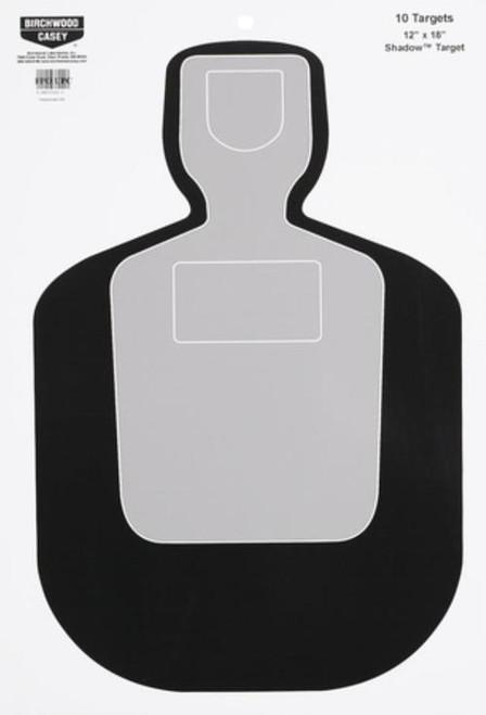 "Birchwood Casey Eze-Scorer Shadow Targets BC19 12x18"", 10/Pack"