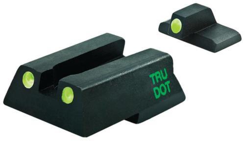 Meprolight Self Illuminated Tru-Dot Fixed Night Sights for Heckler & Koch 45/45C/P30 Pistols Green/Green