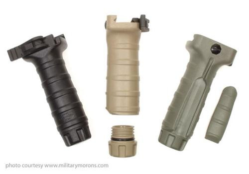 TANGODOWN AR-15/M16 FULL SIZE VERTICAL GRIP, BLACK, SUREFIRE COMPATIBLE