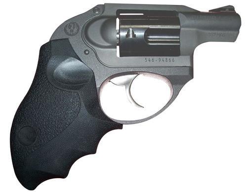 Ergo Delta Grip for Ruger LCR/LCR-X Revolvers, Ergonomic Rigid Rubber Overmolded Grip Black