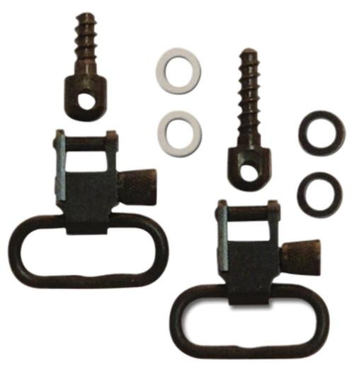 GrovTec US, Inc. Grovtec Us Inc Gt Swivel Set For Bolt Action Rifles Wood Screw Fore End 1 Inch Loops Black Oxide Finish