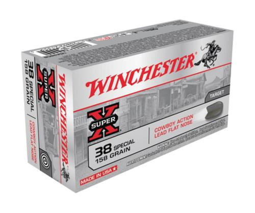 Winchester USA 38 Special Lead 158gr, 50Box/10Case