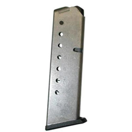 Smith & Wesson 1911 Magazine 45 ACP, Stainless, 8rd