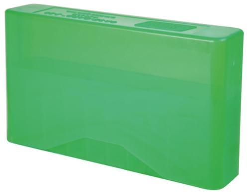 MTM Case Gard J-20 Slip-Top Boxes .300 to 7mm Magnum Caliber Clear Green