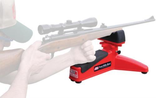 MTM Shooting Rest Rifle and Handgun Red Polymer