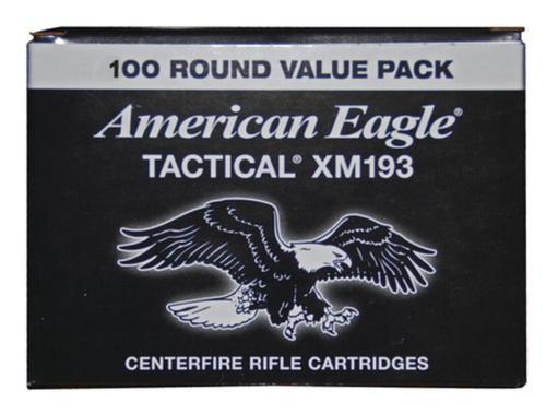 Federal Lake City Arsenal 5.56mm 55gr, Metal Clad Boattail Mil-Spec 100rd/Box