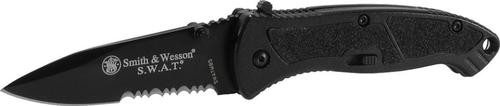 Smith & Wesson Knives Medium SWAT Black Serrated