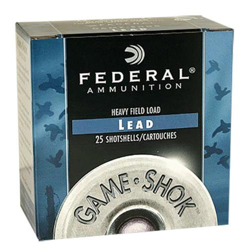 "Federal Game Shok Game Loads 20 ga 2.75"" 7/8 oz 6 Shot 25Bx/10Cs"