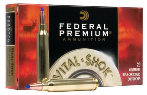 Federal Premium 338 Winchester Mag Nosler Partition 250gr, 20rd Box