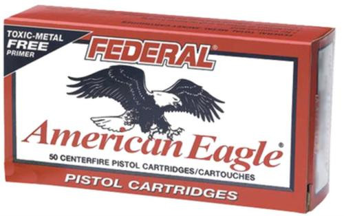 Federal American Eagle 9mm 124gr, Total Metal Jacket 50rd Box