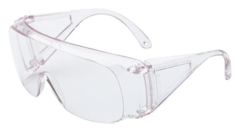 Howard Leight Sharp-Shooter Protective Eyewear, Clear Lens, Clear Frame, Over The Glass Style