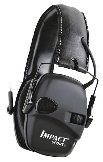 Howard Leight Impact Sport Tactical Electronic Ear Muff Black