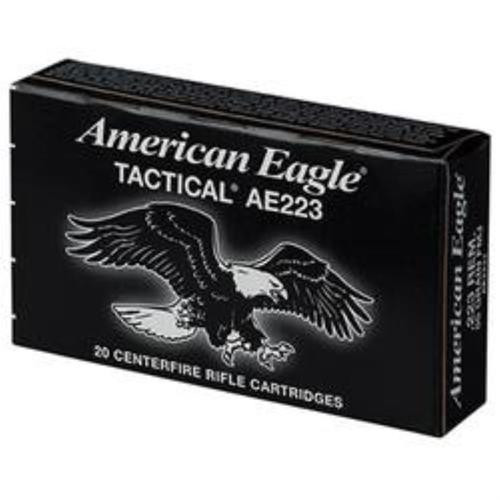 Federal American Eagle Tactical .223 Rem, 55 Gr, FMJ, 500rd/Can