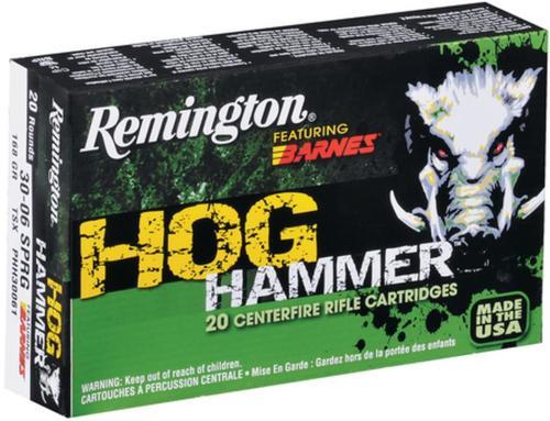 Remington Hog Hammer .300 AAC Blackout, 130gr, Barnes TSX, 20rd Box