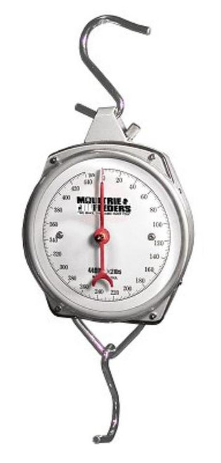 Moultrie Game Scale 440 lb. Stainless/White