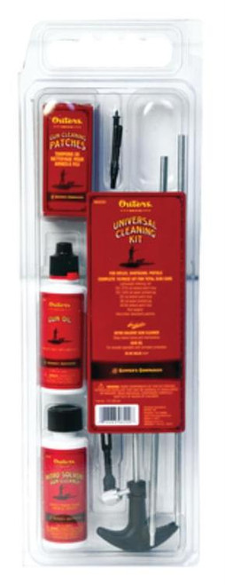 Outers Universal Cleaning Kit, Rifle/Pistol/Shotgun, Clamshell
