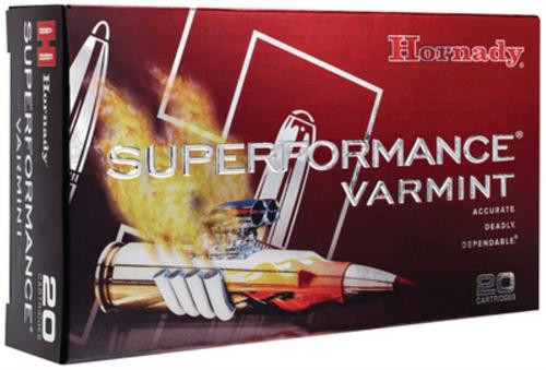Hornady Superformance .222 Remington 50gr, V-Max 20rd Box