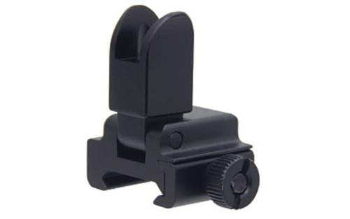 UTG Tactical Sight, Fits Picatinny, Black, Low Profile Flip Front Sight