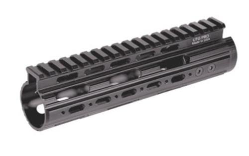 "Leapers, Inc. - UTG Rail System, 7"", Carbine Length, Super Slim Free Floating Handguard, Single Extended Top Rail, Black"