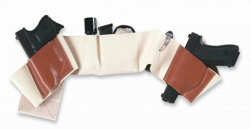 "Galco Underwraps Belly Band, Size: Small, 30-34"", Khaki, Ambi"