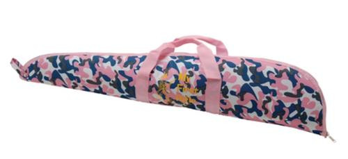 Keystone Davey Crickett Scoped Rifle Case with Davey Crickett Logo Pink Camouflage