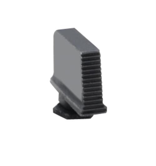 Ameriglo Black Serrated Front Sight .330 Height .090 Width For Glock Pistols