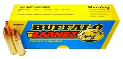 Buffalo Bore Ammo 500 S&W Lead-Free Barnes XPB 375gr, 20rd Box