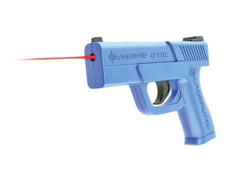 LaserLyte Trainer Trigger Tyme Laser, Compact, Blue Polymer
