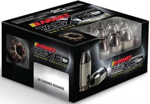 Barnes TAC-XP Home Defense 9mm +P 115gr, 20rd Box