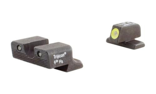 Trijicon Heavy Duty Night Sights Yellow Front Outline Springfield XD