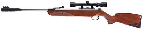Umarex Ruger Yukon Air Rifle Break Open .177 Pellet, 3-9x32mm Scope, Wood Stock