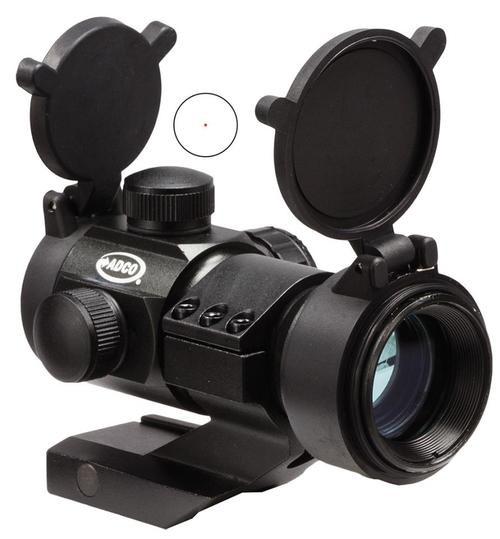 Eagle Import Tactical 1x 35mm Obj Unlimited Eye Relief Black