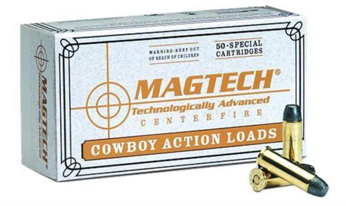 Magtech 45 Colt 200gr, LFLAT, Cowboy Action, 50rd Box