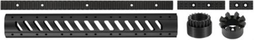 Advanced Technology AR-15 Aluminum 6-Sided Free-Floating Forend and Rails Package