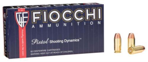 Fiocchi Shooting Dynamics .40 SW 170gr, FMJ, Truncated, 50rd Box