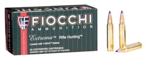 Fiocchi Extrema Rifle Hunting .223 Rem 40gr, Hornady V-Max Polymer Tip, 50rd Box, 20 Box/Case