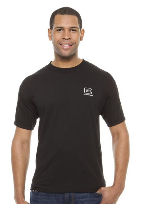 Glock Short Sleeve Perfection T-Shirt X-Large, Cotton, Black