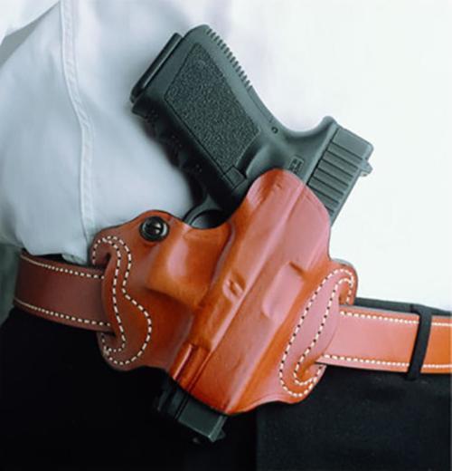Desantis Mini Slide Glock 17,19,22,23,26,27,31,32,33,36 Black