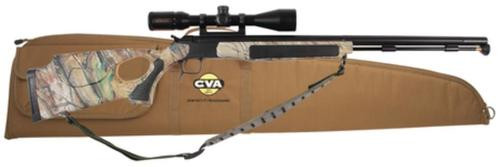 "CVA Accura V2 Muzzleloader .50 Caliber 27"" Fluted SS Barrel KonusPro Scope Mounted"