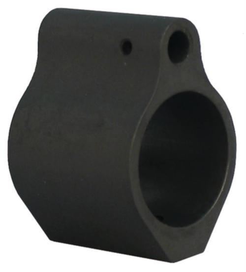 "Yankee Hill Gas Block Low Profile Set Screw .75"" Bore Diameter Steel Black"