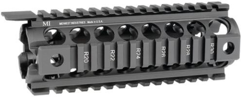 Midwest Gen2 Two-Piece Drop-In Handguard Carbine Length Black
