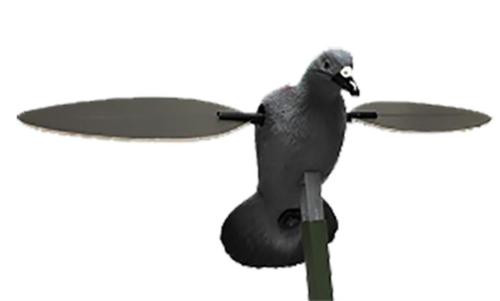 Mojo Pigeon Decoy 4AA Motion Grey