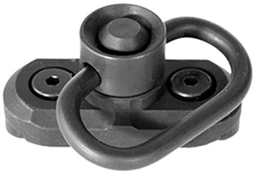 Samson Evolution HK Style Quick Detach Anodized Aluminum Swivel, Black