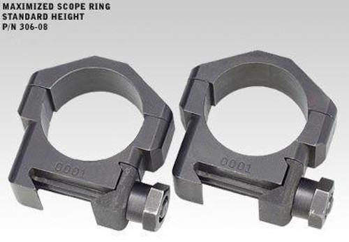 """Badger Ordnance 30mm Rings .823"""""""